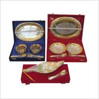 Velvet Box Brass Gift Items