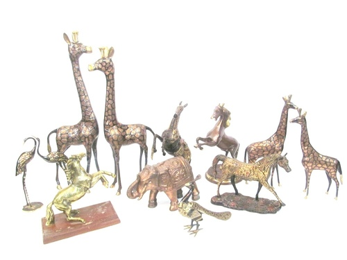 Brass Animals Figures