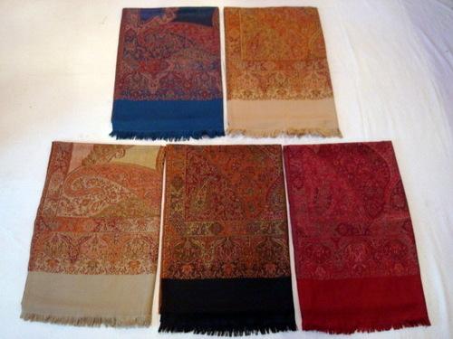 Polyester Jacquard Blend Stoles