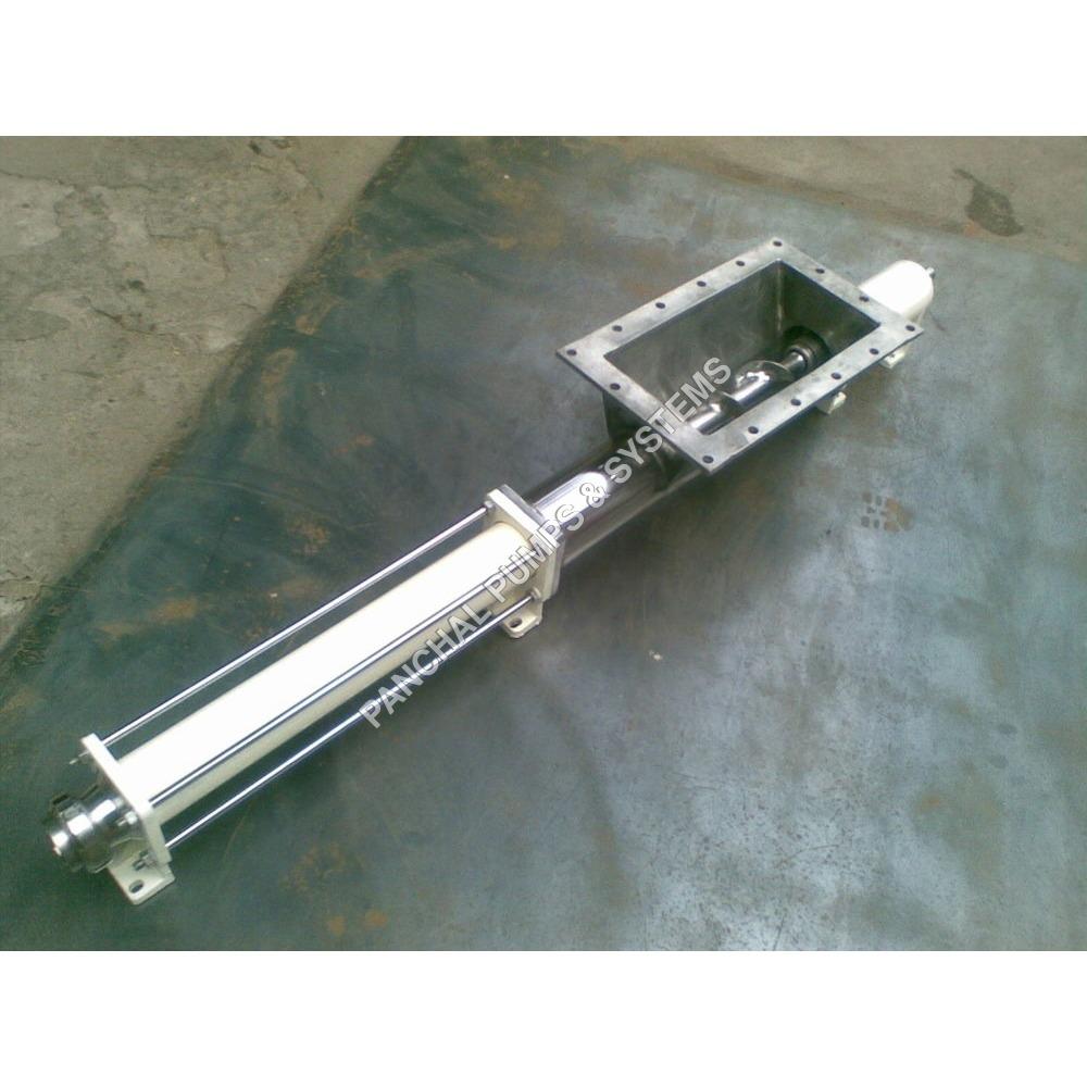 Wide Throat Hygienic Pump, High Viscous Pump