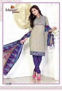 New Cotton Dress Materials With Cotton Dupatta