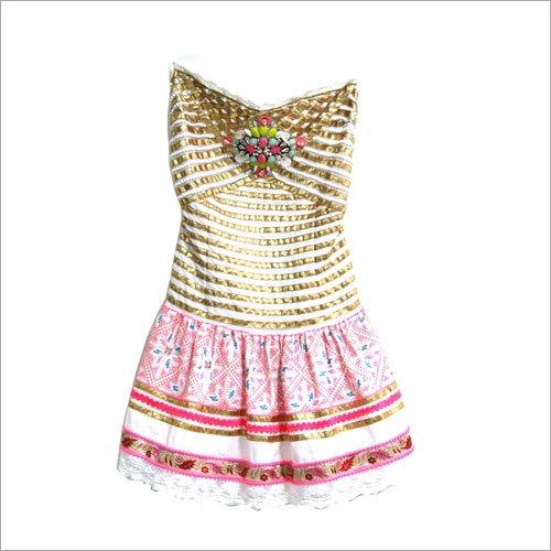 Dress Bomba White pink