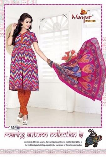 Pure Cotton Dress Materials Wholesale