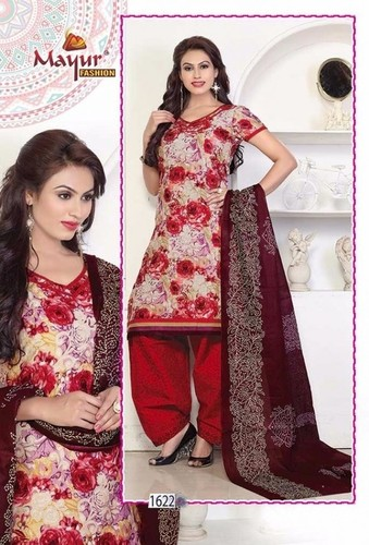 New Design Dress Materials With Dupatta