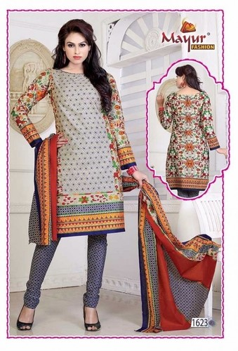 Latest Designer Dress Materials Wholesale Cataloge