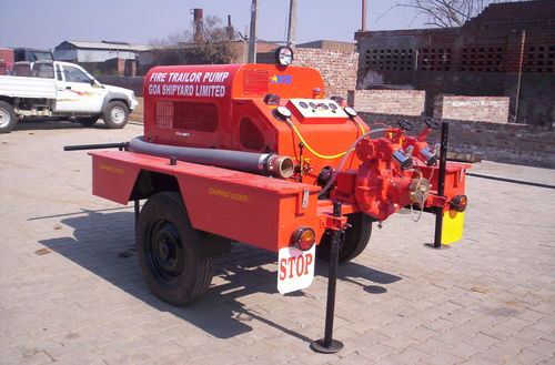Trailer Mounted Fire Pump