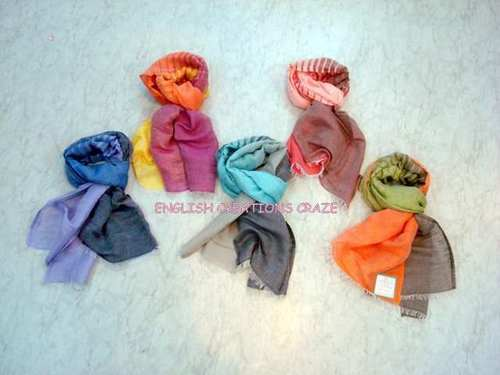 Modal Ombre Dyed Uni Color Stoles