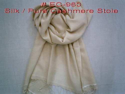 Silk Cashmere Modal Jacquard Scarves