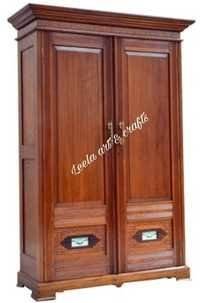 WOODEN ANTIQUE ALMIRAH