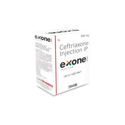 Ceftriaxone 500 mg Injection