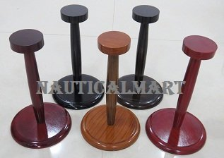 Set Of 5 Different Color Helmet Stands