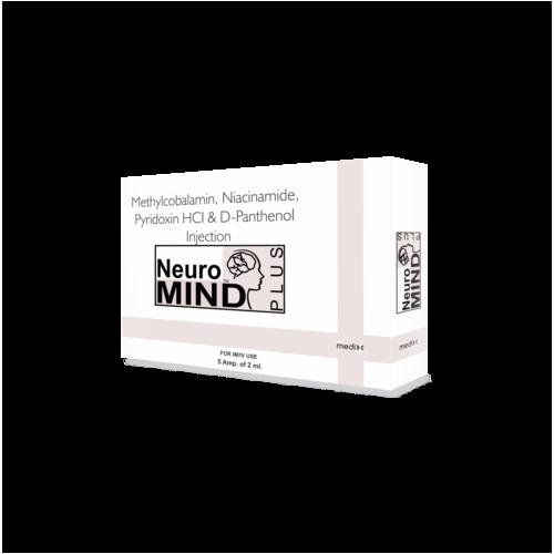 Methylcobalamin, Pyridoxin & Niacinamid Injection