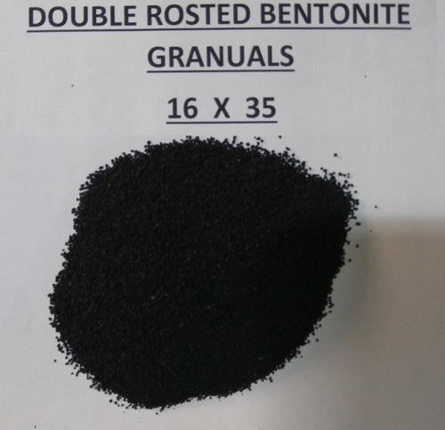 16X35 double roasted bentonite granules