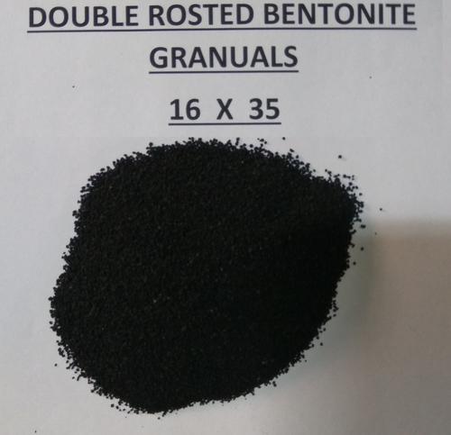 16X35 double roasted bentonite granules