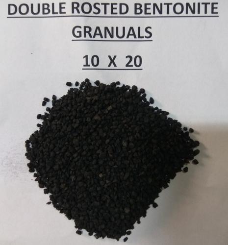 10X20 double roasted bentonite granules
