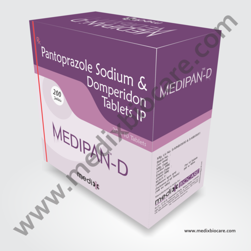 Pantoprazol Sodium & Domperidone Tablets