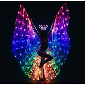 Multi Colours Led Isis Wing