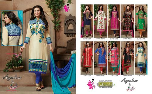Ayesha ki Smile Embroidery Work Wholesale Cataloge