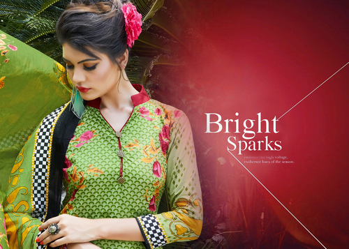 Latest Designer Cotton Karachi Wholesaler Jetpur