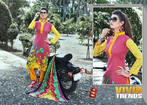 New Stylish Designer Karachi Cotton Dresses