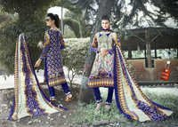 Pure Karachi Cotton Dress Materials Wholesale