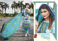 New Arrivals Karachi Cotton Dress Materials Online