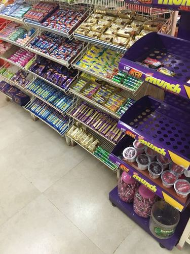 Shops Products Display Rack