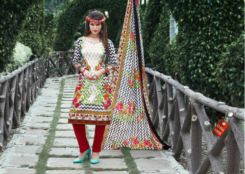 Muskan Pure Cotton Salwar Suits Wholesale