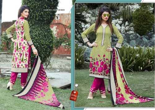 Latest Karachi Cotton Salwar Suits Wholesale Rate