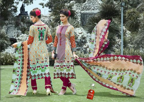 Muskan Karachi Cotton  Materials Wholesaler
