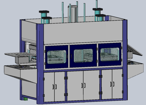 Disposable Pulp Plate Making Machine