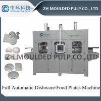 Disposable bagasse wood Pulp Plate Making Machine