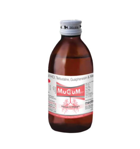 Ambroxol,Terbutaline, Guaiphenesin & Menthol Syrup
