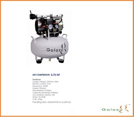 Dental Oil Free Compressor GX-550