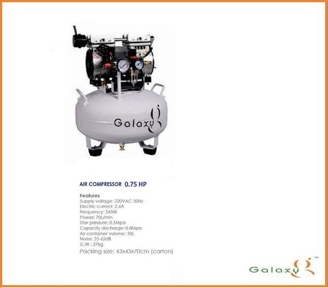 Dental Oil Free Compressor GX-550