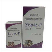 Zopac-p Nimesulide Paracetamol Injection
