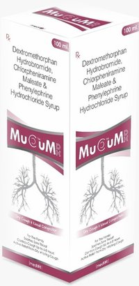 Dextromethorphan Hydrobromide, Chlorpheniramine Meleate & Phenylephrine Hydrochloride Syrup