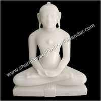 Lord Mahaveer Marble Sculpture