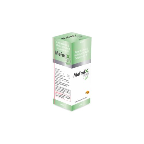 Paracetamol & Mefenamic Acid Suspension