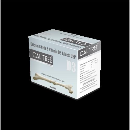Calcium Citrate & Vitamin D3 Tablets