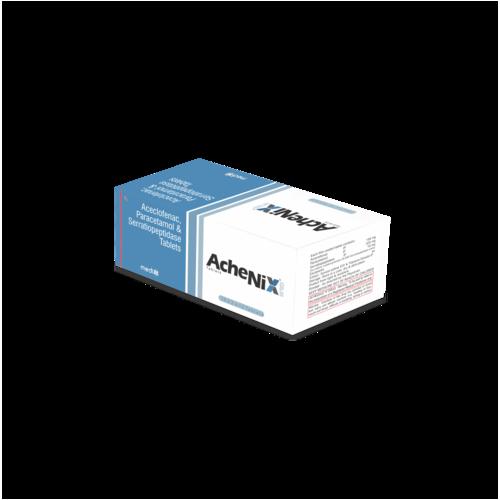 Aceclofenac, Paracetamole & Serratiopeptidase Tablets