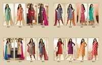 LT (CHANDERI VOL-96) Straight Salwar Kameez Wholesale