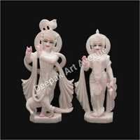 Marble God statue Rahda krishna