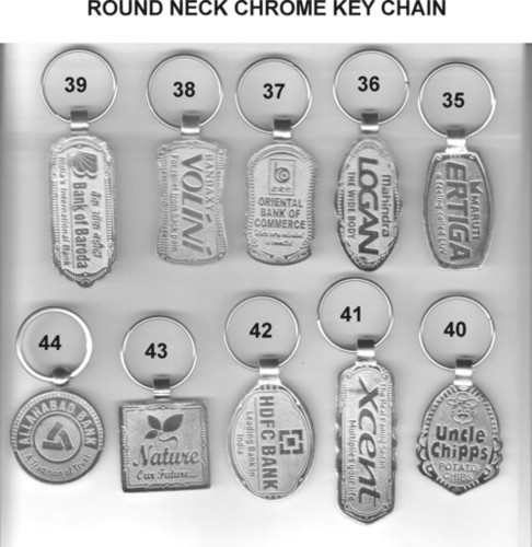 Round Neck Nickel Key