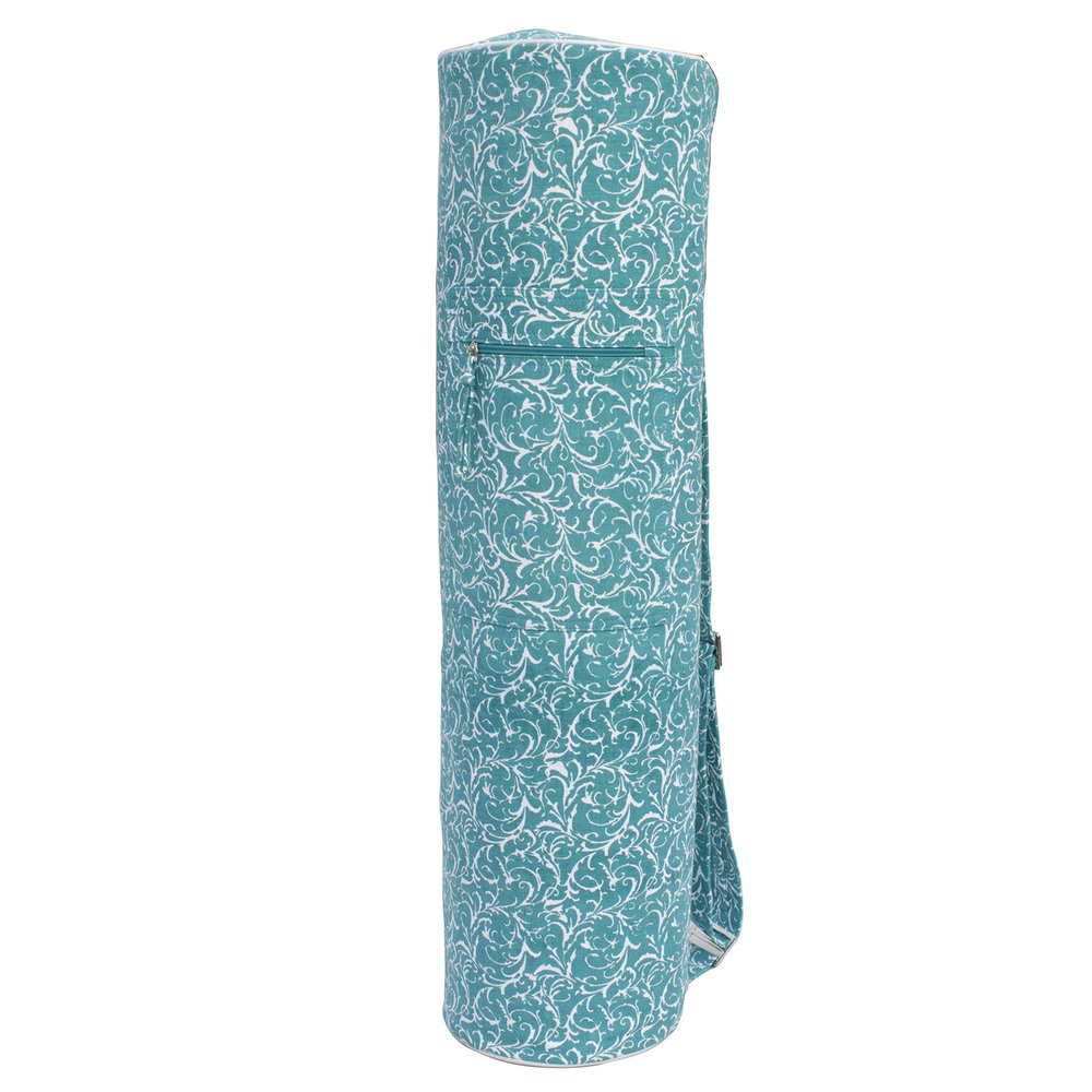 Ymb077 Printed Yoga Mat Bag - Turquoise
