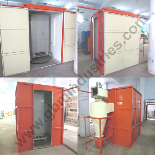 Almirah Powder Coating Plant