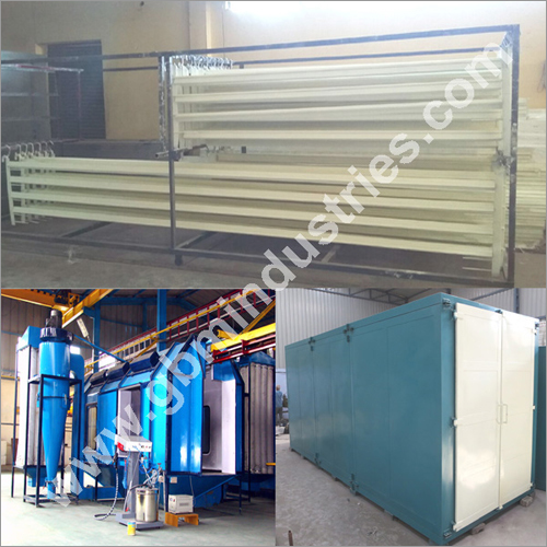 Aluminium Section Powder Coating Plant