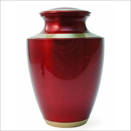 Crimson Cremation Urns