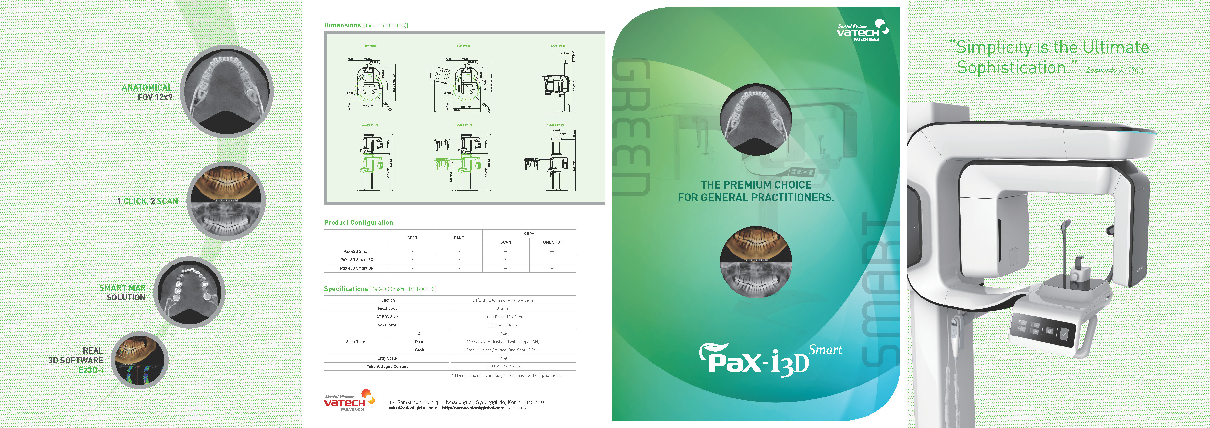 Dental Pax - I 3D Imaging Green