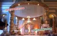 Wedding Wooden Beautiful Marriage Mandap